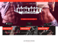 Capture du site http://www.holifit.fr