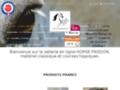 Voir la fiche détaillée : Sellerie en ligne Horse Passion