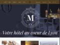 Hotel Moderne : Hotel 2 �toiles � Lyon - Rh�ne 69