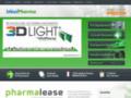 Détails : Idéal Pharma - Croix & enseigne de pharmacie à diode