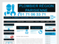 Plombier région parisienne disponible 24h/24