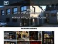 Rideau métallique magasin : rideau Eurolook, rideau de fer, store, grille et volet