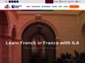 ecole langue sur www.ila-france.com