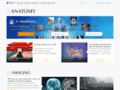 Atlas interactif d'anatomie du corps humain