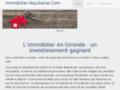 Détails : Immobilier Aquitaine