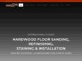 Détails : Sablage de plancher à Montréal International Floors