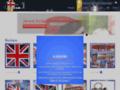 Détails : Souvenirs de Londres avec le drapeau Anglais - jaimeuk.com