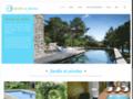Détails : Jardin et piscine