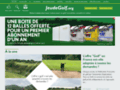Détails : magazine de golf