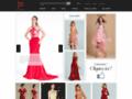 Recherche d'une robe rouge habillée sur jmrouge.fr