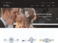 Détails : Bague de mariage Montréal