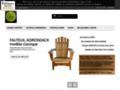 Détails : KEBEK - kebek specialiste fauteuil adirondack cedre blanc