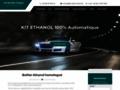 Détails : Découvrez le kit à l'éathanol pour votre voiture