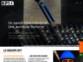KP1 béton pré-contraint présente son nouveau site web
