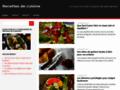 Capture du site http://www.la-cuisine-des-delices.eu