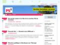 site http://lacanau.parti-socialiste.fr/