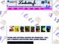 Dictée de français en ligne sonore audio et interactive