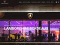 Détails : Lamborghini Bordeaux
