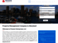 Property Management companies in Baltimore