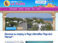 camping sud france sur www.laplage-camping.net