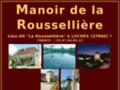 MANOIR DE LA ROUSSELLIERE