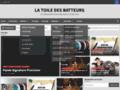 La toile des batteurs La toile des batteurs : webzine site francais du batteur et de la batterie, propose un site, un magasine complet pour la batterie et les batteurs !