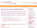 Détails : Cours et séances de médiumnité en Suisse
