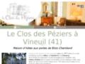 Chambre d'hôte près de Blois – Le Clos des Péziers