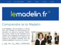 Détail SITE http://le-madelin.fr