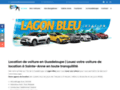 Détails : Location voiture Guadeloupe avec le Lagon Bleu
