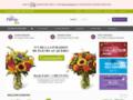 commande fleurs sur www.lefleuriste.com