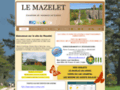 site http://www.lemazelet.fr