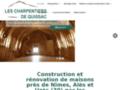 Détails : Les Charpentiers de Quissac près de Nîmes