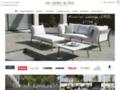 Mobilier de jardin luxe