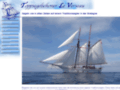 Segeln wie in alten Zeiten auf einem Traditionsschiff in der Bretagne