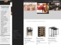 Détails : Location et vente de chaises en bois