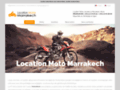 Détails : Location moto au Maroc