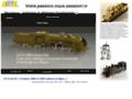 Détails : Trains maquettes en laiton et bronze