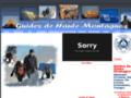 André BERNARD Guide de Haute Montagne