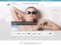 Capture du site http://www.lunettes-de-soleil-privees.com