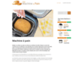 Détails : L'utilisation optimum de sa machine à pain