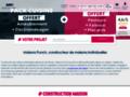constructeur maison neuve sur www.maisons-punch.com