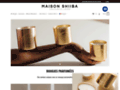Détails : Maison Shiiba Bougies Parfumées