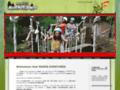Parcours acrobatique à la Réunion