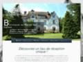 site http://www.manoirdesroches.com/location-salle-mariage/