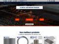 Détails : Des plaques inoxydables en ligne