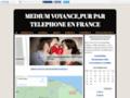Détails : Medium voyance pur,par téléphone en France