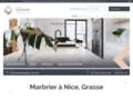 Détails : Marbrier à Nice, Grasse