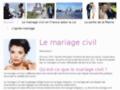 Mariage Civil -  - Paris ()