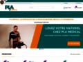 Capture du site http://www.materiel-pla-medical.fr/index.cfm